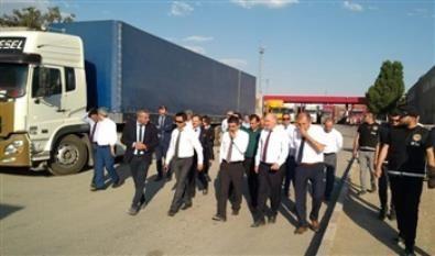 Gümrükler Genel Müdürü Mustafa GÜMÜŞ ve beraberindeki heyet, 17.07.2019 tarihinde Gürbulak Gümrük Kapısında İran Gümrük İdaresi heyeti ile bir toplantı gerçekleştirdi.