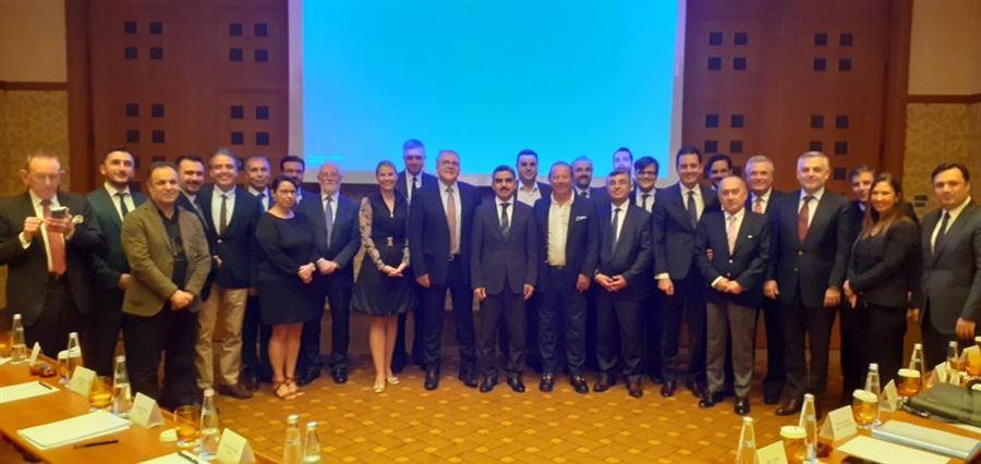 Avrupa Duty Free Konfederasyonu Yönetim ve Danışma Kurulları Toplantısına katılım sağlandı.