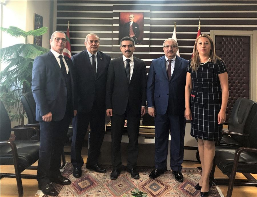 Ankara, Bursa, İstanbul ve Mersin Gümrük Müşavirleri Dernekleri Başkanları ziyareti