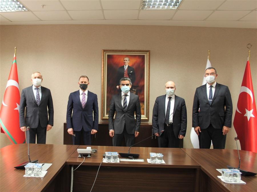 Arnavutluk Gümrükler Genel Müdürü'nün 07.01.2021 tarihinde Genel Müdürlüğümüze gerçekleştirdiği ziyaret